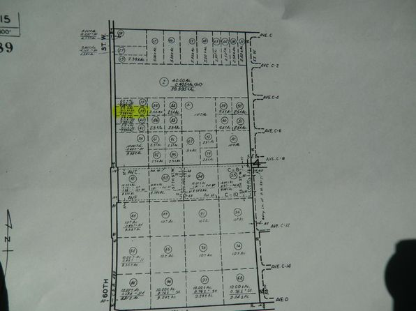 null bed null bath Vacant Land at 60 St.W./ Avenue C4 Ave Caliche, CA, 93534 is for sale at 14k - 1 of 11