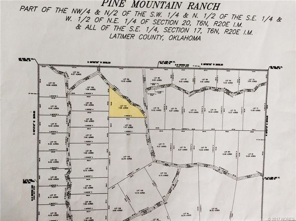 null bed null bath Vacant Land at 101 Pine Rd Panola, OK, 74559 is for sale at 9k - 1 of 2