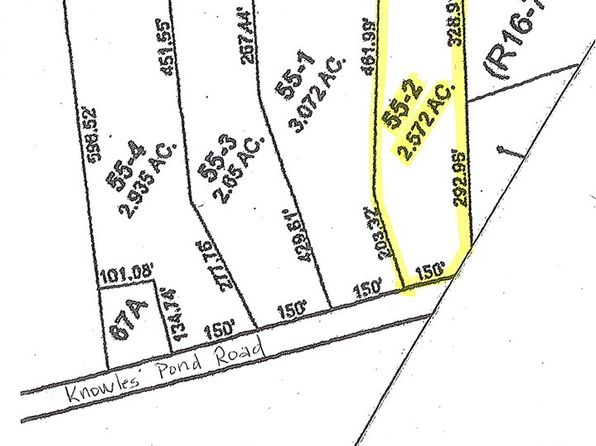 null bed null bath Vacant Land at 00 Knowles Pond Rd Northfield, NH, 03276 is for sale at 38k - google static map