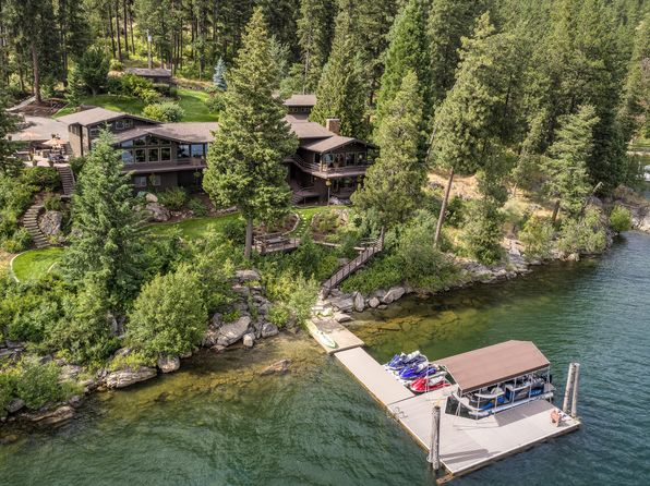Coeur d'Alene ID Waterfront Homes For Sale - 82 Homes   Zillow