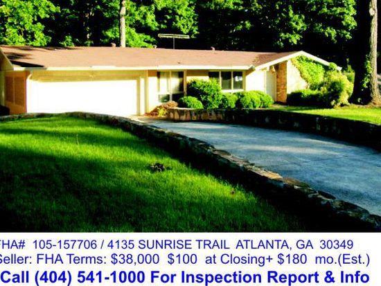 4135 Sunrise Trl College Park GA 30349