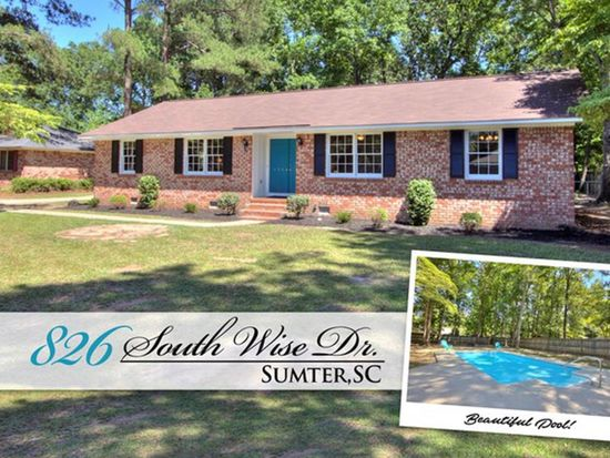 826 s wise dr sumter sc 29150 zillow rh zillow com