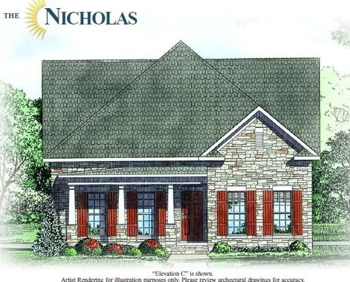 The Nicholas Village Plan Baileys Glen Active Adult Cornelius