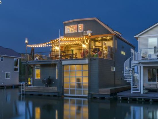 Portland  OR   2. Floating Homes for Every Budget