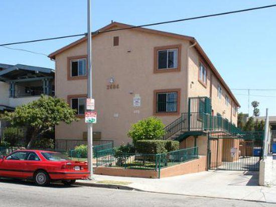 Great 2 Bedroom Apartment 1 Bathroom Floorplan 2686 James M Wood Blvd Los Angeles Ca 90006