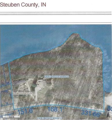 W Fox Lake Rd Angola IN Zillow - Angola road map