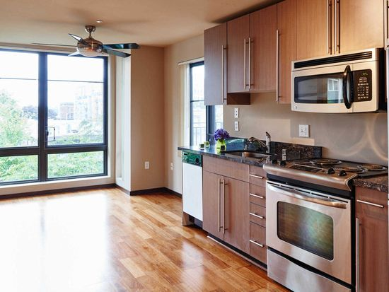 Kitchen With Granite Countertops And Stainless Steel Liances