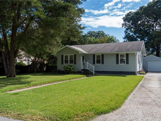 4860 S Oliver Dr, Virginia Beach, VA 23455 | Zillow Ranch Home Designs With Va E A on
