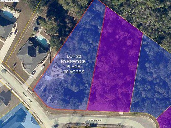 Pace Florida Map.Byrnwyck Pl Lot 20 Pace Fl 32571 Zillow