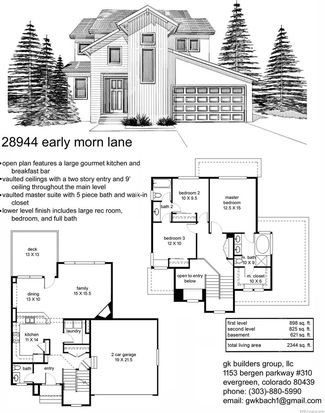 28944 Early Morn Ln, Evergreen, CO 80439 | Zillow