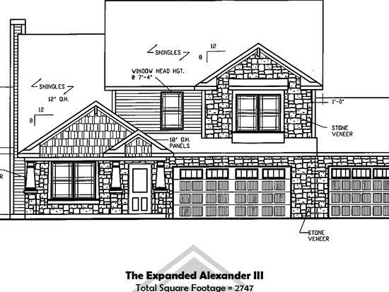 Expanded Alexander III Stones Crossing by Majestic Homes – Majestic Homes Floor Plans