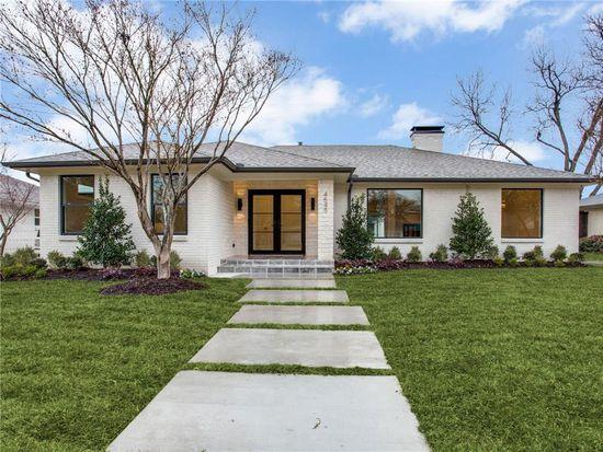 Magnificent 4545 Ashford Dr Dallas Tx 75214 Zillow Home Interior And Landscaping Ponolsignezvosmurscom
