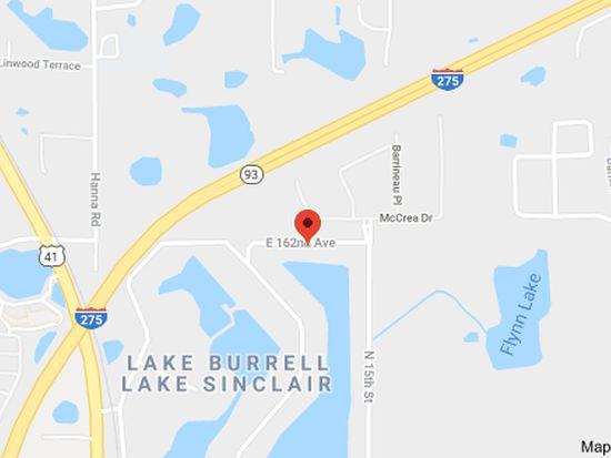 Lutz Florida Map.1211 E 162nd Ave Lutz Fl 33549 Zillow