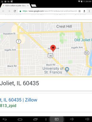 Joliet Il Zip Code Map.1029 N William St Joliet Il 60435 Zillow