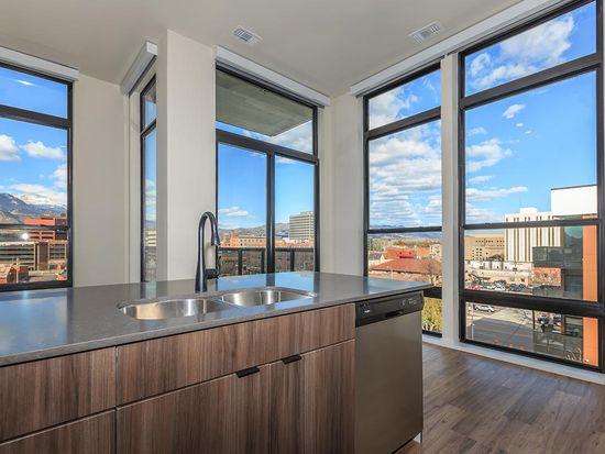 333 Eco Apartments W3 Loft Floorplan E Colorado Ave Springs Co 80903