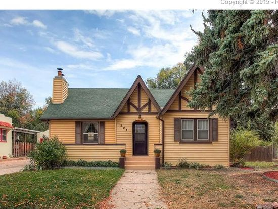 503 N Hancock Ave Colorado Springs Co 80903 Zillow