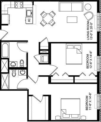 12 X 14 Bedroom