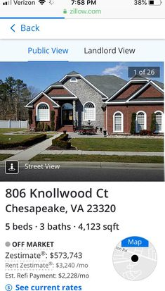 806 Knollwood Ct, Chesapeake, VA 23320   Zillow on zillow maps earth, zillow maps zillow, zillow maps neighborhood, zillow maps street, zillow maps real, zillow house maps,