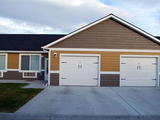 Wheatbaker Patio Home Apartments Wt Attached Garage Included In Rent Floorplan 4110 Clippers Way Billings Mt 59106