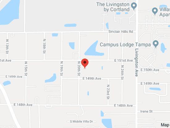 Lutz Florida Map.14909 N 20th St Lutz Fl 33549 Zillow