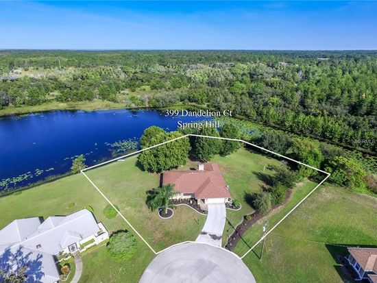 Dandelion Ct Spring Hill FL Zillow - Aerial map spring hill road and us hwy 19 1990