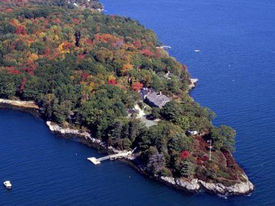 Westport Island Between Sheepscot River, Maine, USA ... |Westport Island Maine