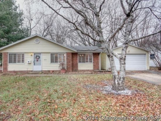 Reduced 50k Expansive Ranch Home With 5 Car Garage: 1007 Lanore Dr, Urbana, IL 61802