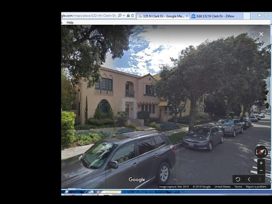 132 N Clark Dr, Beverly Hills, CA 90211 | Zillow Zillow Maps Street View on