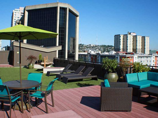 Moda Apartments Rooftop Deck With City Views