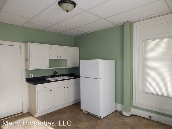 This is an image of a kitchen at the Forest Avenue Apartments
