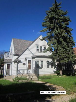 Pleasing 4473 N 54Th St Milwaukee Wi 53218 Zillow Beutiful Home Inspiration Cosmmahrainfo