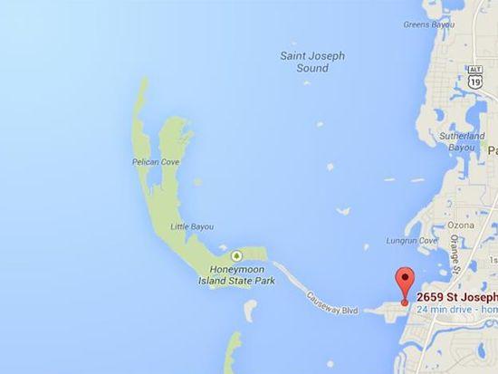 Dunedin Florida Map.2659 Saint Joseph Dr E Dunedin Fl 34698 Zillow