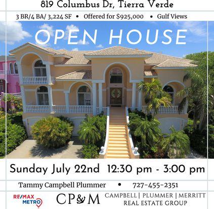 - 819 Columbus Dr, Tierra Verde, FL 33715 Zillow