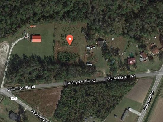 Tabor City Nc Map.2806 Mollie Iron Hill Rd Tabor City Nc 28463 Zillow