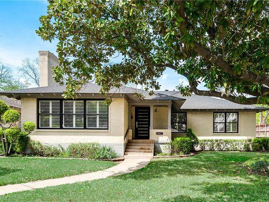 Fabulous 6947 Merrilee Ln Dallas Tx 75214 Zillow Home Interior And Landscaping Ponolsignezvosmurscom