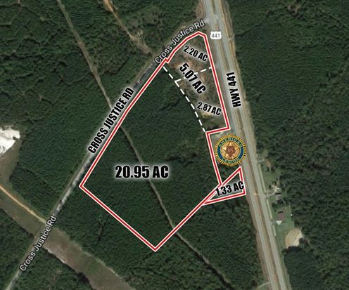 Map Of Hwy 441 In Georgia.0 Hwy 441 Cross Justice Rd Irwinton Ga 31042