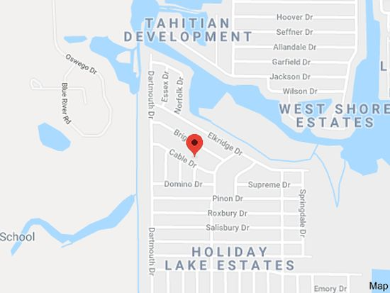 Holiday Florida Map.3133 Cable Dr Holiday Fl 34691 Zillow