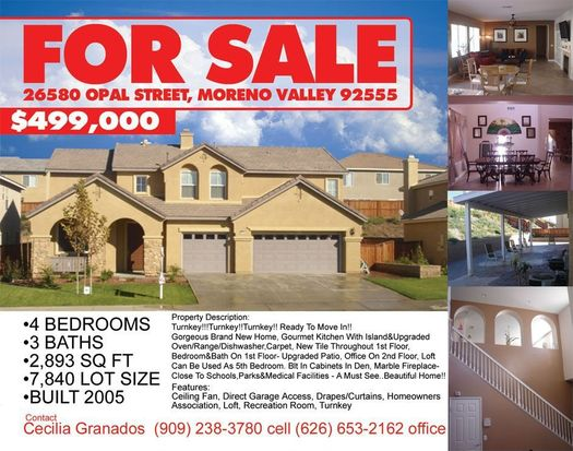 26580 opal st moreno valley ca 92555 zillow