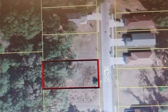 null bed null bath Vacant Land at 5TH St. Wildwood, FL, 34785 is for sale at 5k - google static map