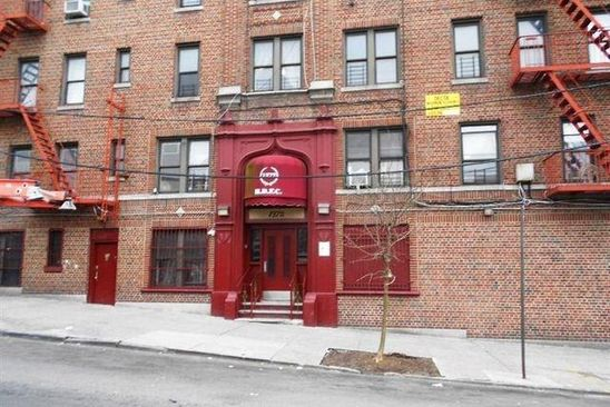 1 bed 1 bath Condo at 1372 SHAKESPEARE AVE BRONX, NY, 10452 is for sale at 85k - google static map