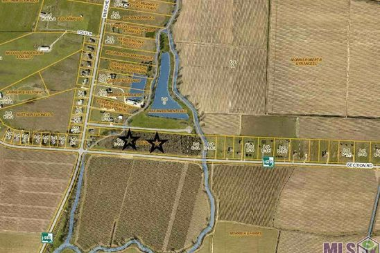 null bed null bath Vacant Land at D1M3 Section Rd Port Allen, LA, 70767 is for sale at 40k - google static map