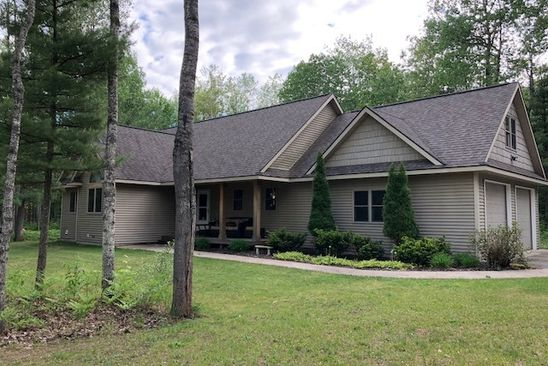 3 bed 3 bath Single Family at 1679 ROUND LAKE RD INTERLOCHEN, MI, 49643 is for sale at 351k - google static map