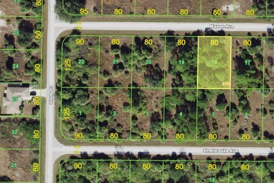 null bed null bath Vacant Land at 19185 Mason Ave Port Charlotte, FL, 33954 is for sale at 8k - google static map