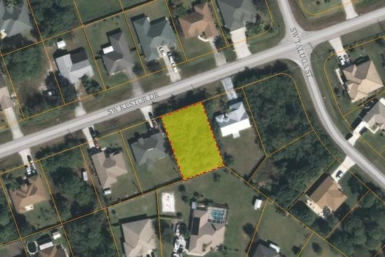 null bed null bath Vacant Land at 218 SW KESTOR DR PORT SAINT LUCIE, FL, 34953 is for sale at 33k - google static map