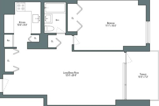 1 bed 1 bath Cooperative at 77 Fulton St New York, NY, 10038 is for sale at 680k - google static map