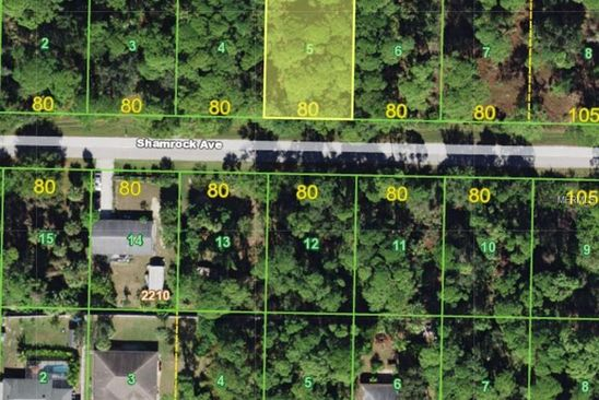 null bed null bath Vacant Land at 18210 Shamrock Ave Port Charlotte, FL, 33948 is for sale at 8k - google static map