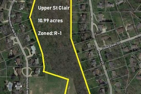 null bed null bath Vacant Land at 690 Circle Dr Upper St Clair, PA, 15241 is for sale at 1.40m - google static map