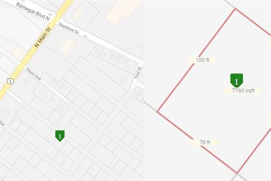 0 bed null bath Vacant Land at 46 Twain Ave Barnegat, NJ, 08005 is for sale at 1k - google static map