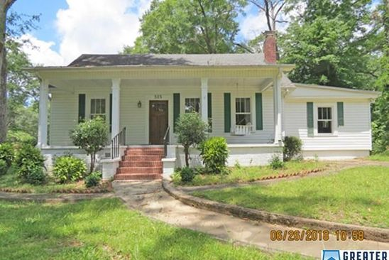 4 bed 2 bath Single Family at 515 HOUSTON ST ALEXANDER CITY, AL, 35010 is for sale at 73k - google static map