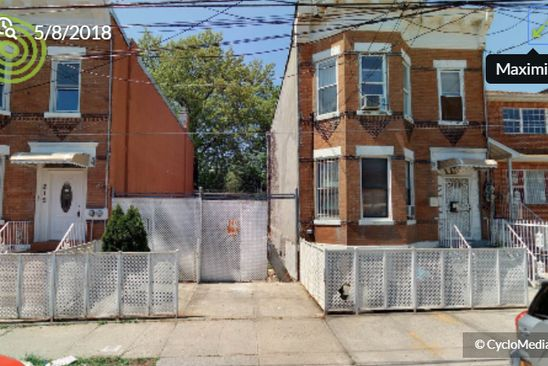 null bed null bath Vacant Land at 210 BERRIMAN ST BROOKLYN, NY, 11208 is for sale at 425k - google static map